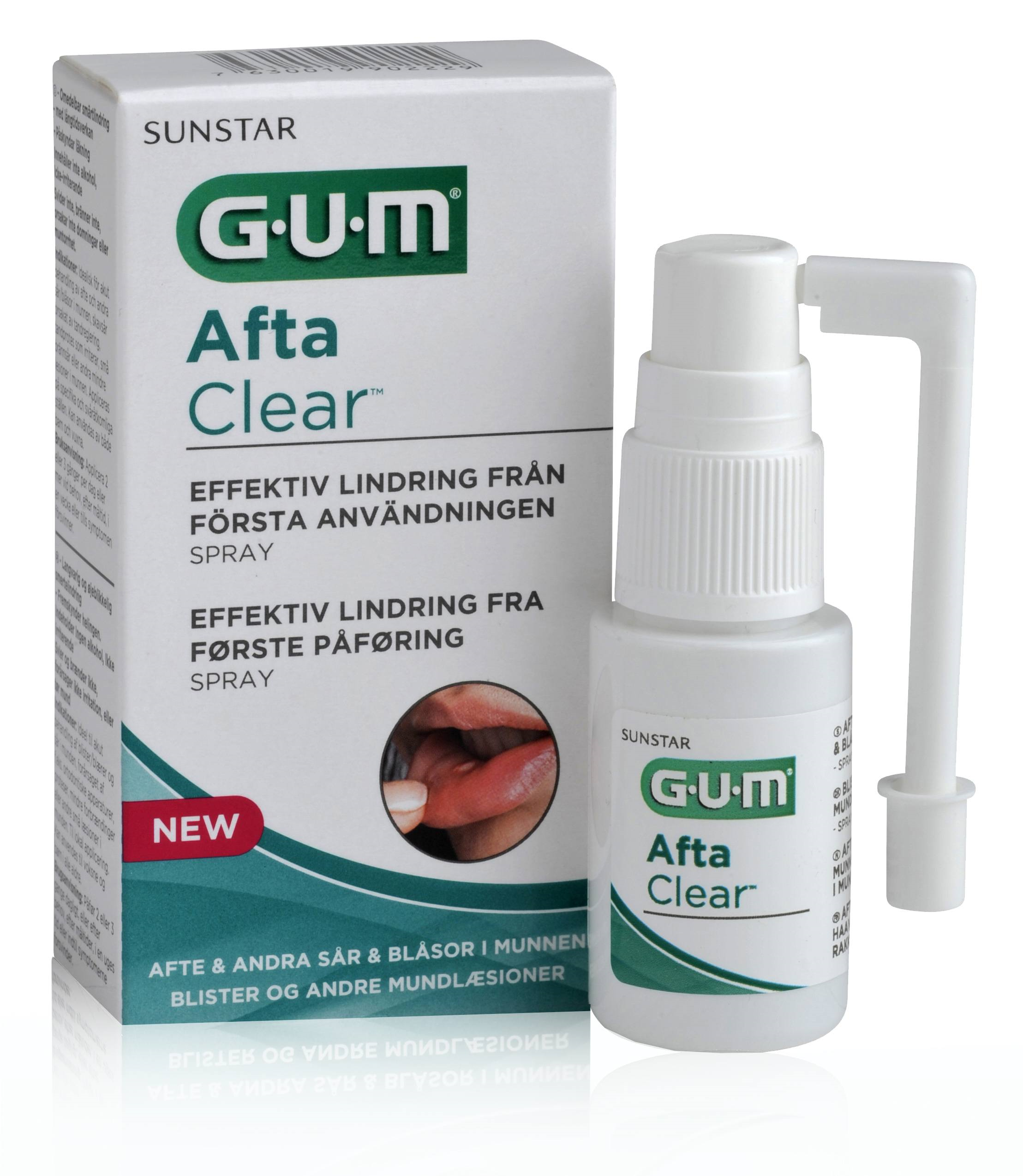 GUM AftaClear, spray, 15 ml