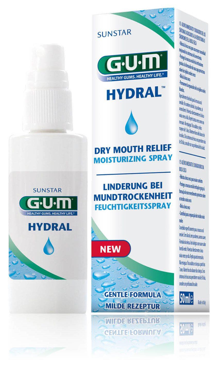 GUM Hydral, spray, fugtgivende, 50 ml