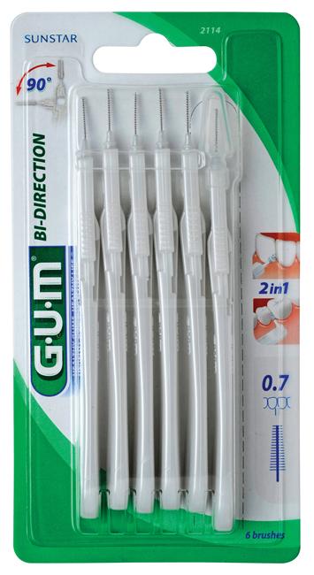 GUM Bi-Direction, 0.7x0.4 mm