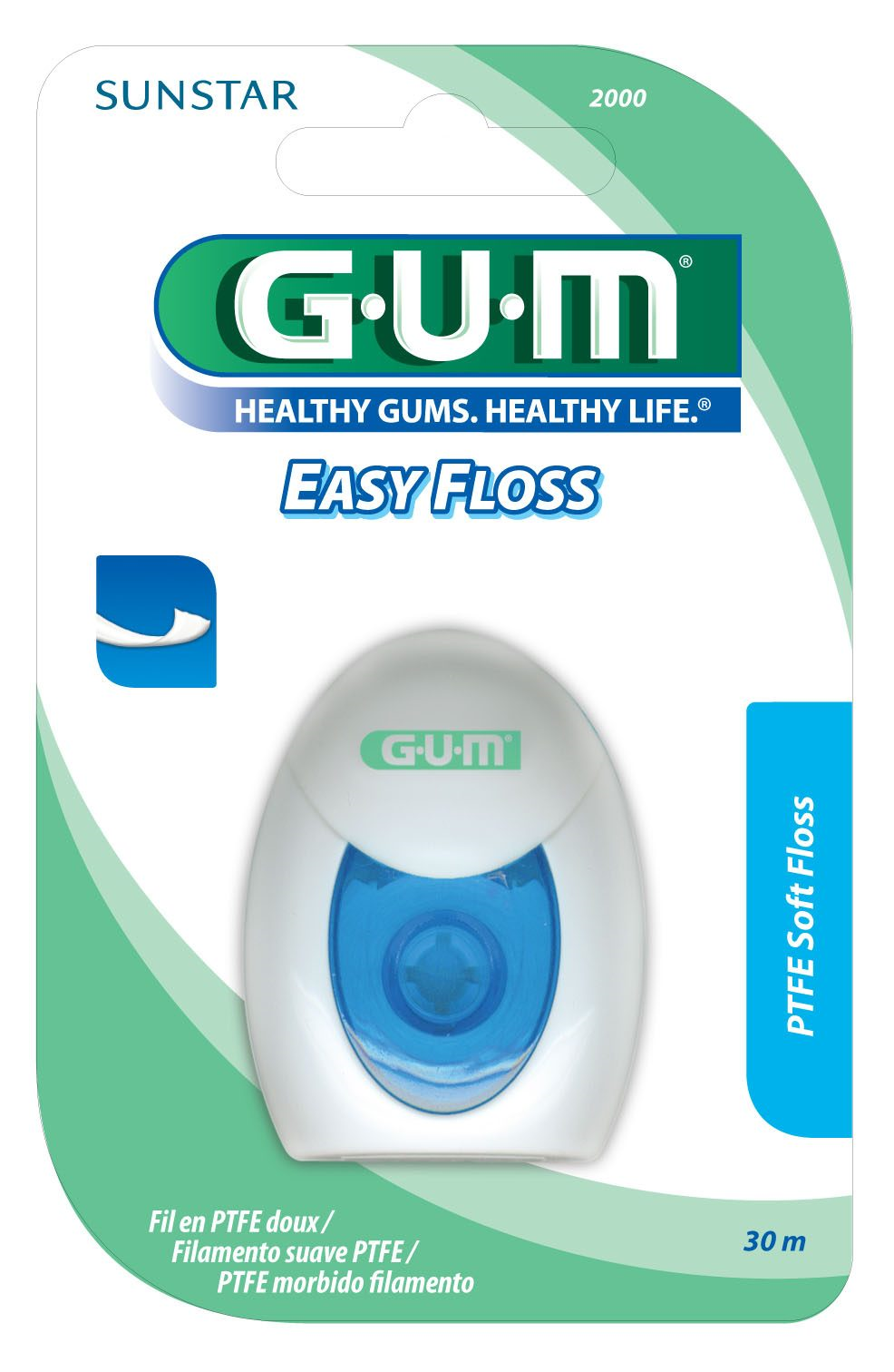 Gum Easy Floss, tandtråd, 30 m