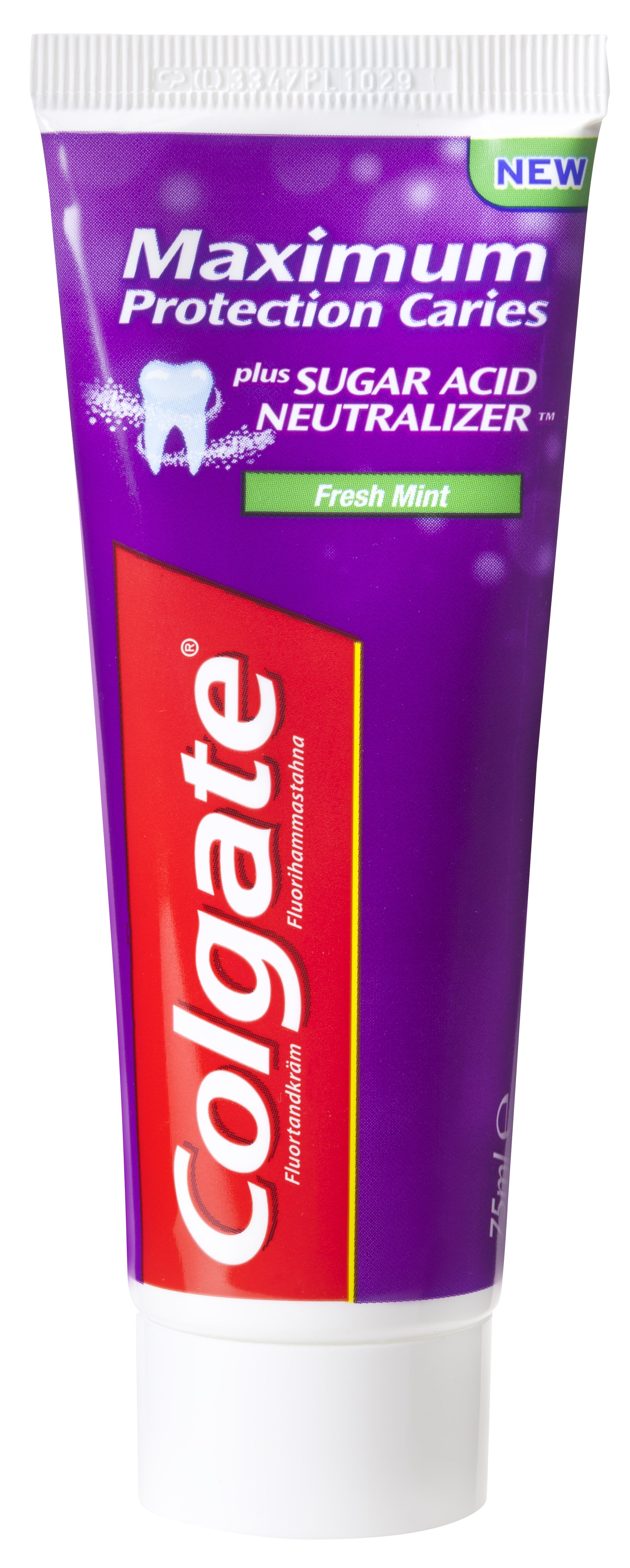 Colgate, Max. protec. Caries, stå tube, 12x75 ml