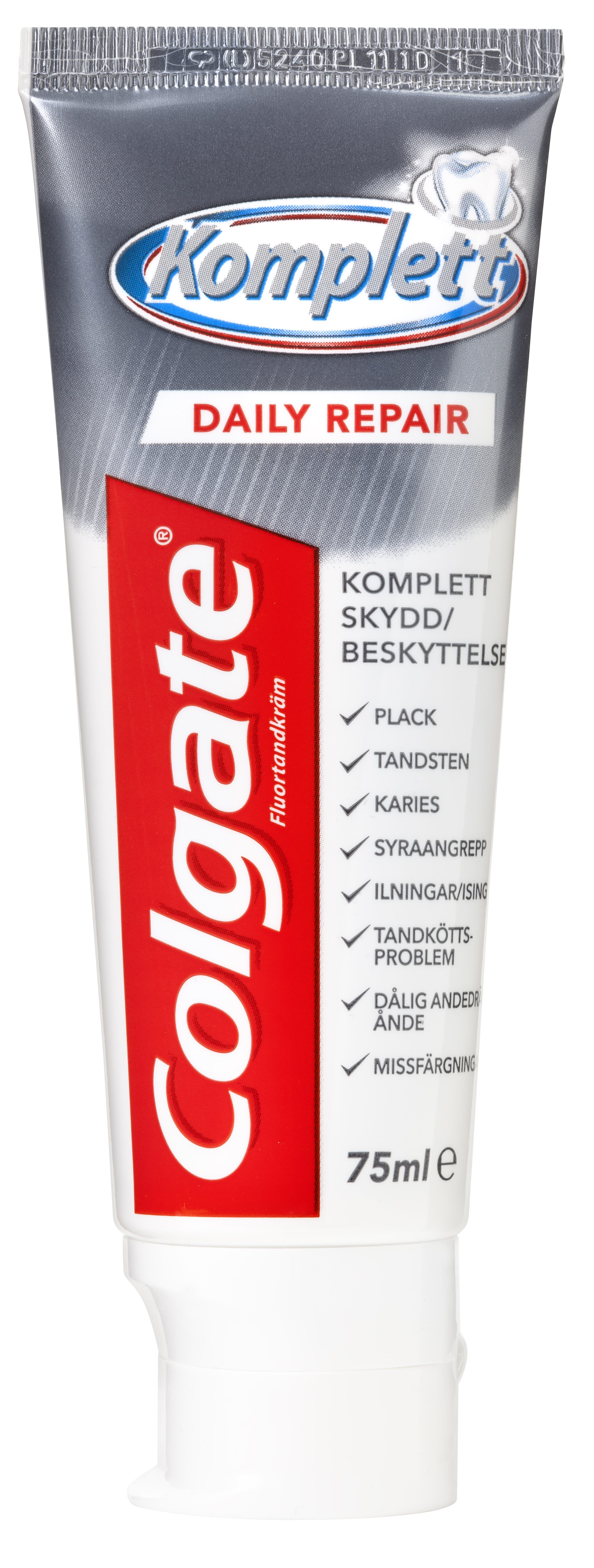 Colgate, Komplet Daily Repair, stå tube, 75 ml