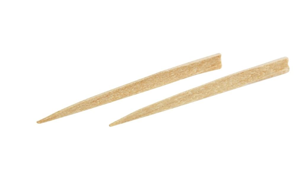 TePe, træstikkere, birk, tynd, 125 stk
