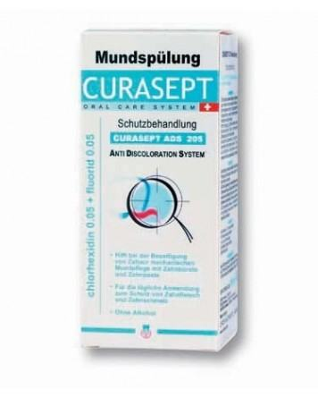Curasept ADS 205 mundskyl, 0.05%CHX, fluor, 200ml