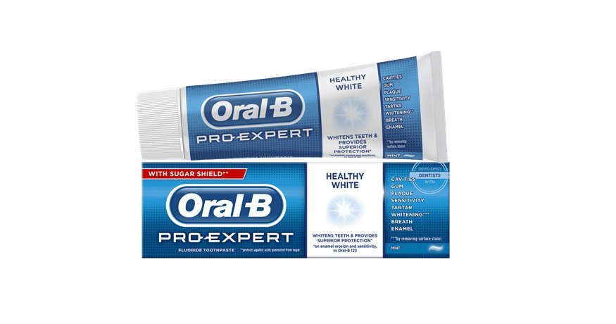 Oral-B, tandpasta, ProExpert Healthy White, 75 ml