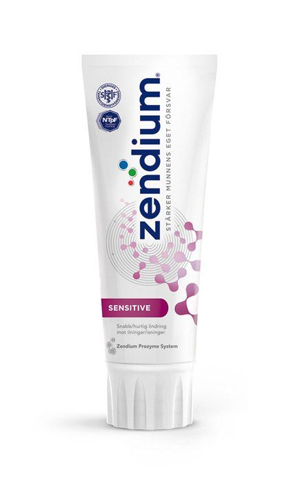 Zendium, tandpasta, Sensitive, 75 ml