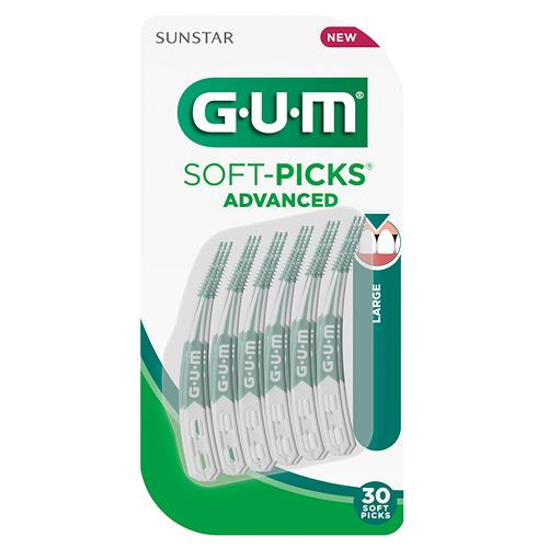 GUM Soft-Picks, Advanced, Large, 30 stk.