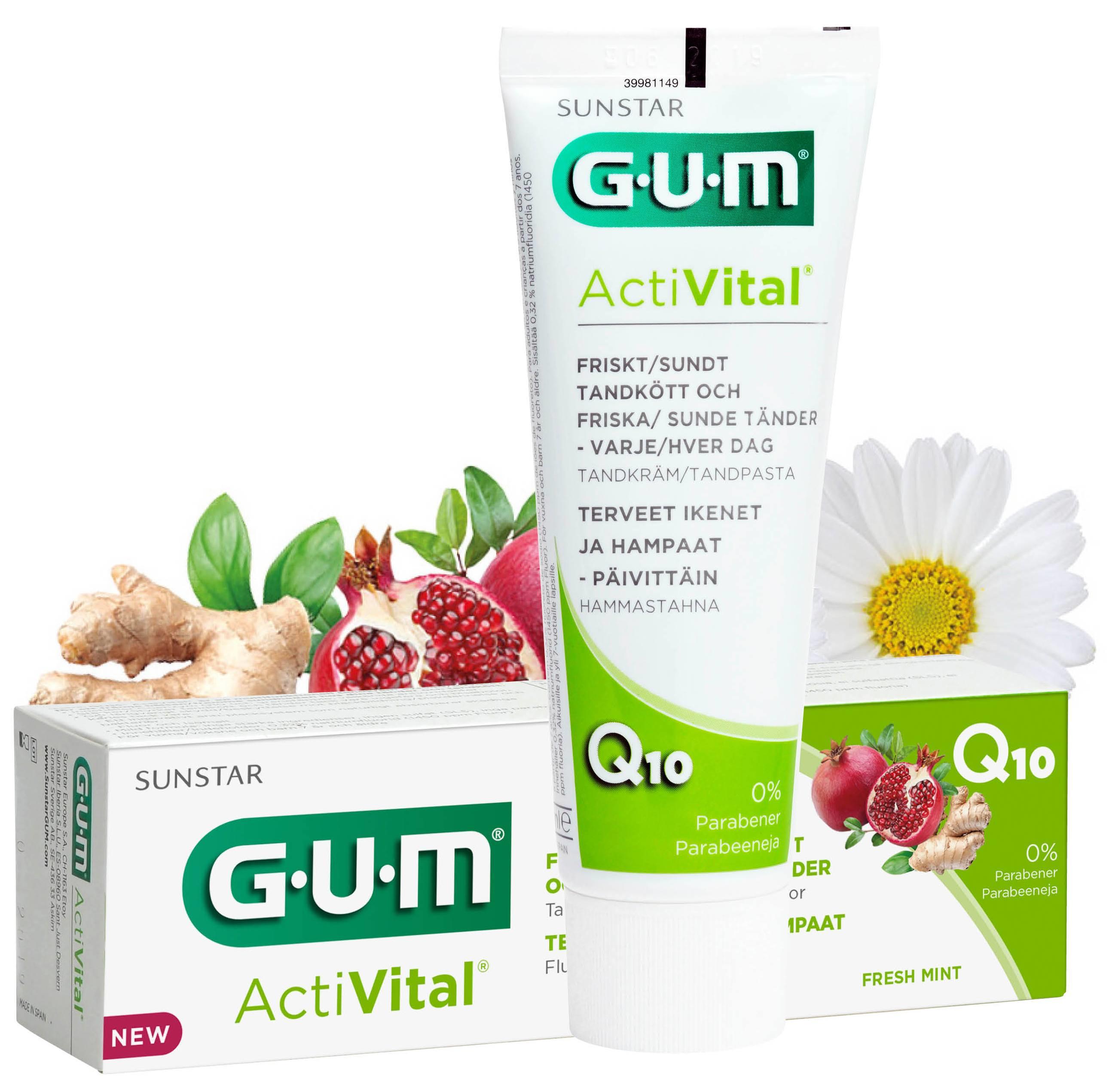 GUM Activital, tandpasta