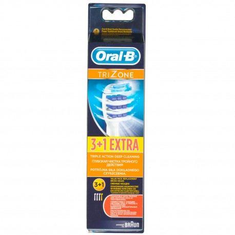 Oral-B, el-børstehoved, TriZone, 4 stk
